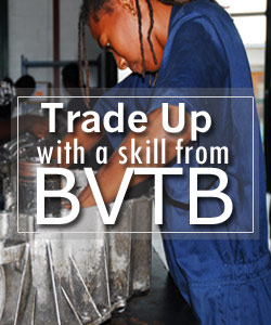 Trade Up with a skill from B.V.T.B